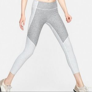 Outdoor Voices Gray Two Tone 7/8 Leggings